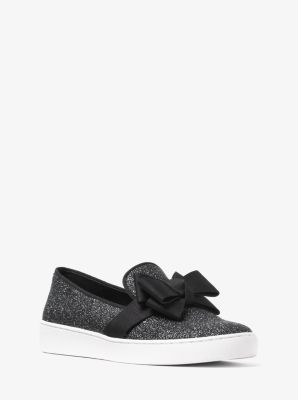 Val Glitter Slip-On Sneaker by Michael Kors