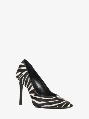 마이클 코어스 펌프스 Michael Kors Muse Zebra Calf Hair Pump,BLACK/WHITE