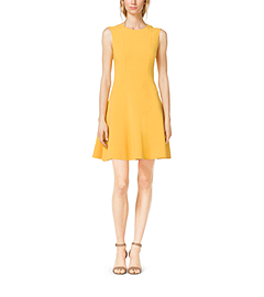 Wool-Crepe Dress by Michael Kors
