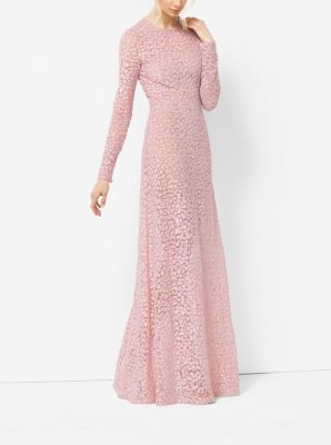 Floral-Embroidered Tulle Gown by Michael Kors