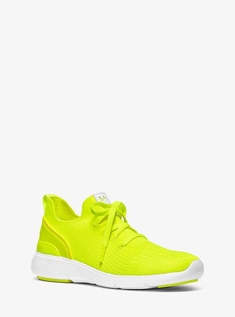 Kyla Neon Knit Trainer