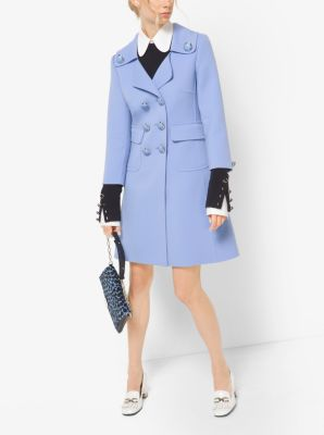 Double-Face Crepe-Broadcloth Coat by Michael Kors