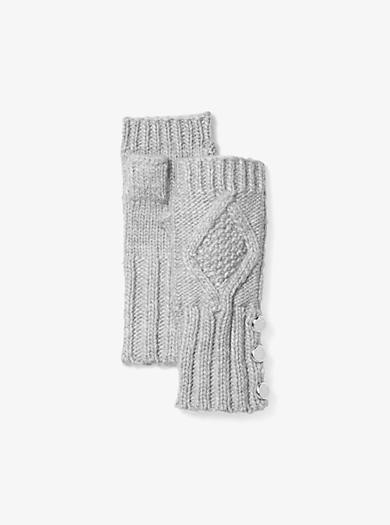 Fingerloser Handschuh aus Aran-Strick by Michael Kors