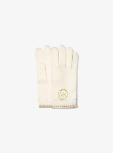 Touch Logo Gloves  by Michael Kors