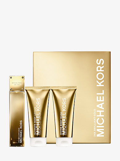 Gold Collection 24K Brilliant Gold Mother's Day Gift Set by Michael Kors