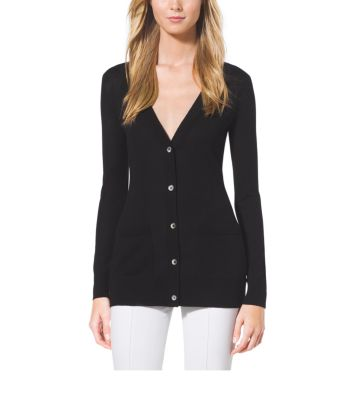 Featherweight Cashmere Cardigan by Michael Kors