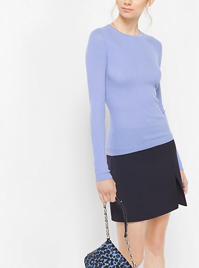 Pullover leggero in cashmere by Michael Kors