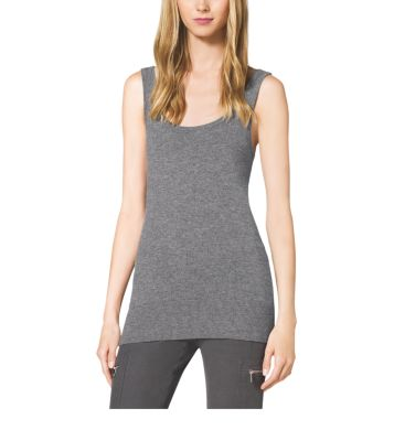 Cashmere Tank Top by Michael Kors