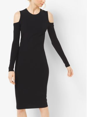 Peekaboo Stretch-Jersey Dress by Michael Kors
