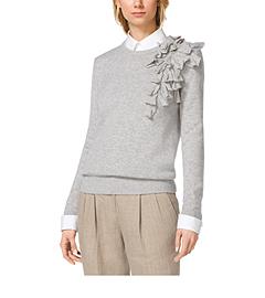 Corsage Cashmere Pullover