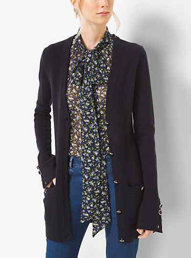 Cardigan in cashmere by Michael Kors