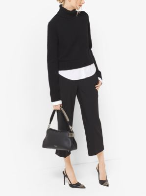 Layered Cashmere Turtleneck by Michael Kors