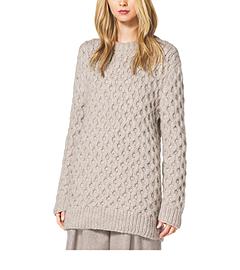 Textured Alpaca Pullover