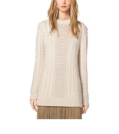 Aran Merino-Wool Pullover