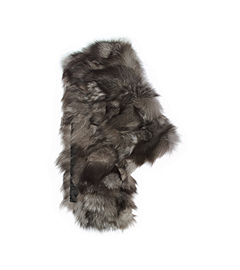 Shredded Fox Fur Scarf