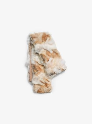 Coyote Fur Scarf by Michael Kors