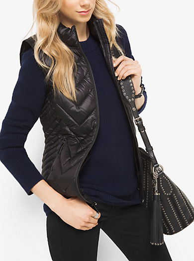 Quilted Nylon Vest by Michael Kors
