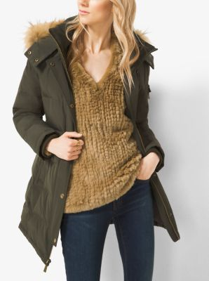 Quilted Down Parka by Michael Kors