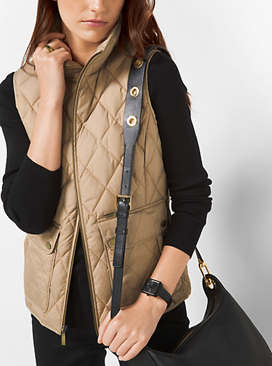 Quilted-Cotton Vest by Michael Kors
