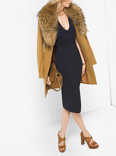 Cappotto in cashmere e lana con finiture in pelliccia by Michael Kors