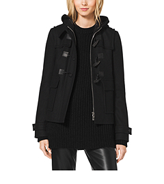 Melton-Wool Toggle Coat