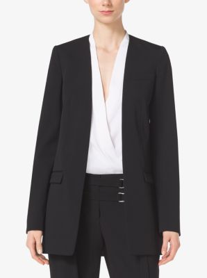 Bonded Wool-Gabardine Jacket by Michael Kors