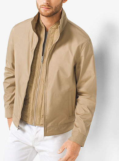 3-in-1 Tech Track Jacket by Michael Kors