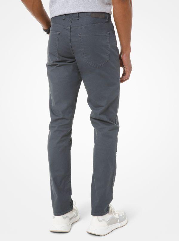 Michael Kors - Parker Slim-Fit Stretch-Twill Pants - 2