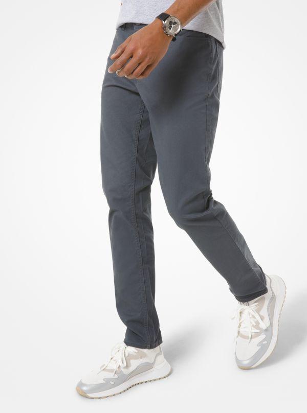 Michael Kors - Parker Slim-Fit Stretch-Twill Pants - 1