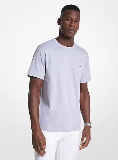 T-shirt a girocollo in cotone by Michael Kors