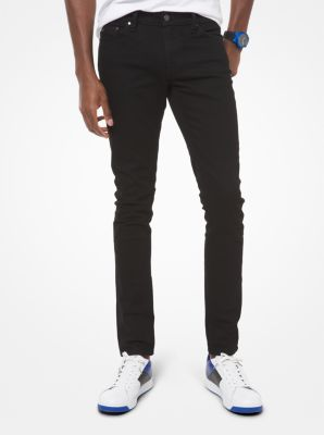 Slim-Fit Stretch-Cotton Jeans by Michael Kors