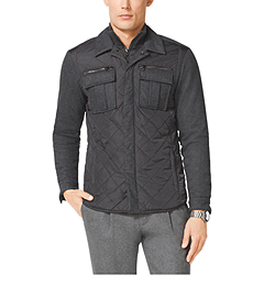 Pocket-Front Quilted Jacket