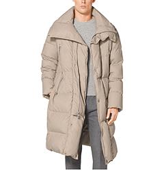 Cotton-Poplin Sleeping Bag Coat