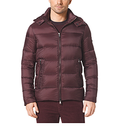 Hooded Down-Filled Jacket