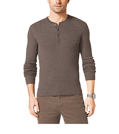Wool Thermal Henley