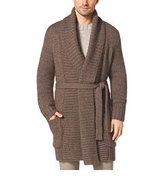 Knitted Alpaca Wool Cardigan