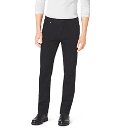 Tailored-Fit Stretch-Cotton Jeans