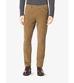 Slim-Fit Corduroy Trousers by Michael Kors