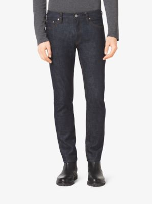 Slim-Fit Indigo Selvedge Jean by Michael Kors