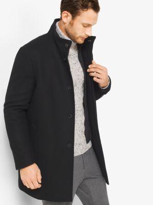 Wool-Melton Car Coat by Michael Kors