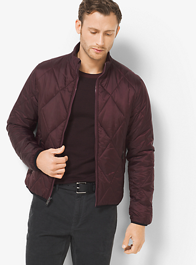 Packable Quilted-Nylon Down Jacket by Michael Kors