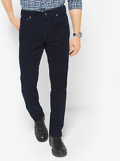 Pantalone slim-fit in velluto a coste by Michael Kors