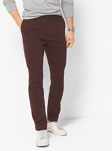 Chino in twill di cotone by Michael Kors