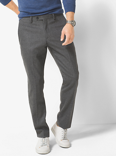 Slim-Fit Trousers by Michael Kors