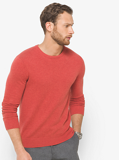 Cashmere Crewneck Sweater by Michael Kors