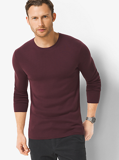 Pullover girocollo in cashmere by Michael Kors