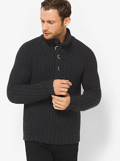Pullover in cashmere a coste by Michael Kors