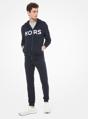 마이클 코어스 맨 집업 후드 Michael Kors Logo Cotton Blend Zip-Up Hoodie