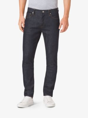 Slim-Fit Selvedge Jeans by Michael Kors