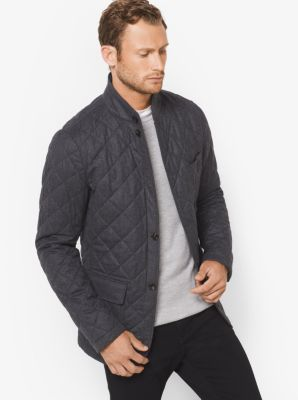 Quilted Wool Jacket by Michael Kors